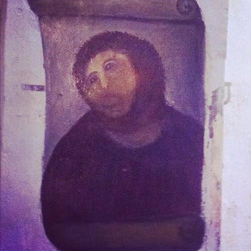 El famoso #eccehomo de Borja