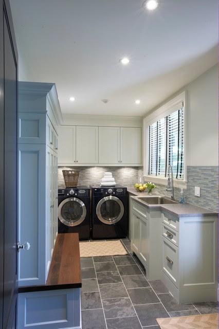 Trickett Laundry Room - contemporary - laundry room - other metro
