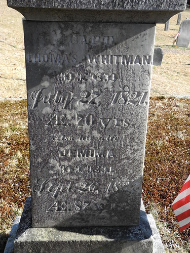 Capt. Thomas WHITMAN by midgefrazel