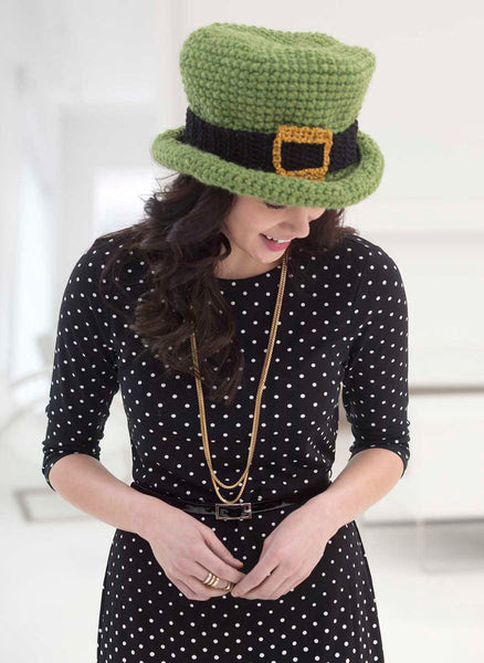 Top Of The Morning Hat Pattern (Crochet)