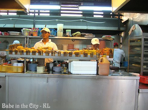 KTZ Kepong snacks counter - take yr pick here