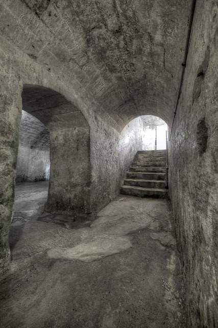 Fort Charlotte Back Stairs 2