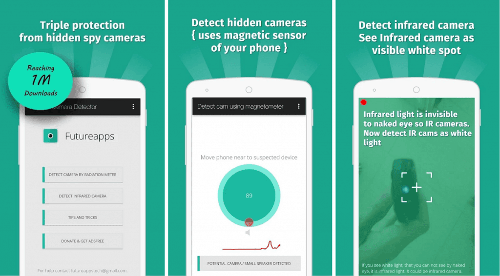 Download Hidden Camera Detector App For Android ~ christmas 2017