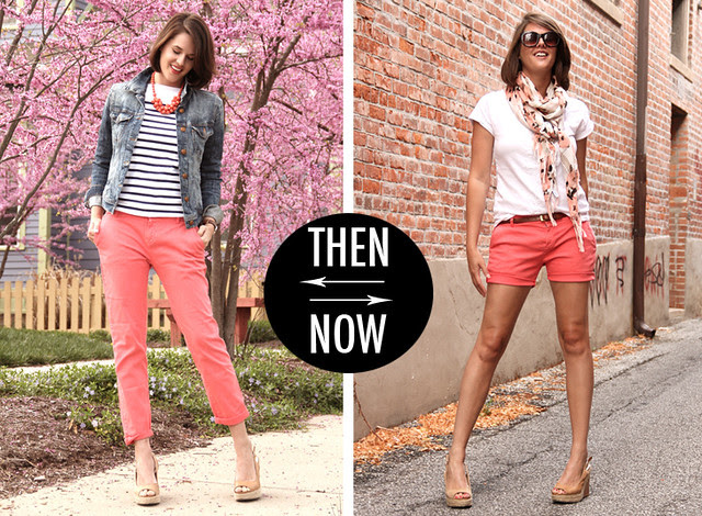 pants to shorts - What I wore
