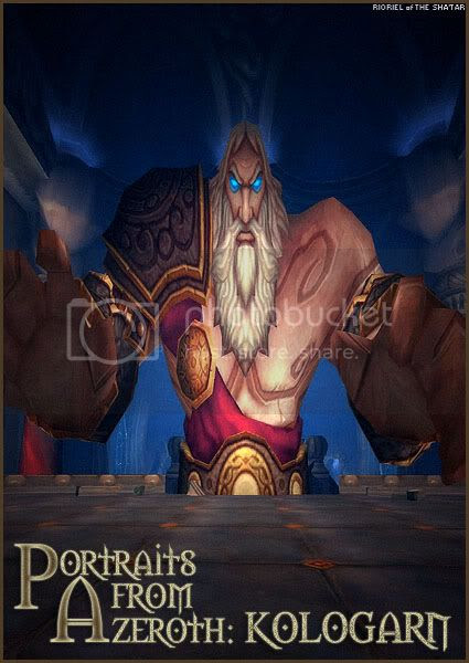 Portaits from Azeroth: Kologarn, by Rioriel Ail'thera