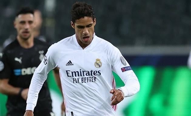 Manchester United ready to sign Real Madrid defender Raphael Varane next summer.