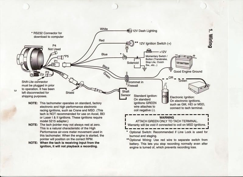 31 Sun Super Tach 2 Wiring Diagram