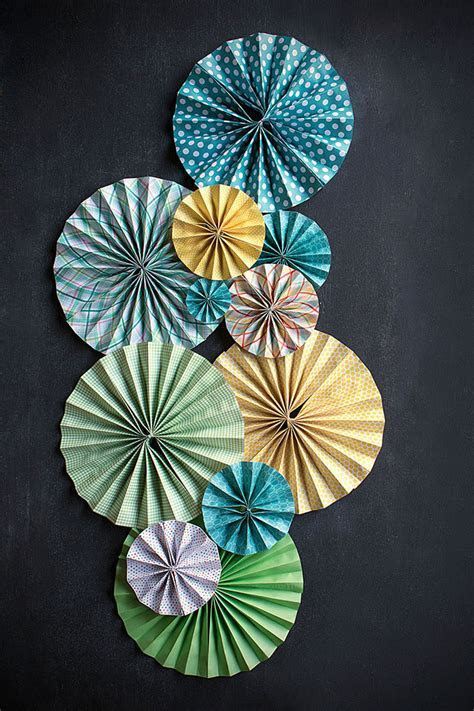 DIY Paper Fans   Wedding Inspiration