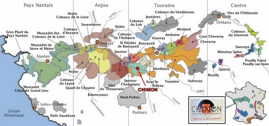 Wine Making Chinon Aoc Domaine De Beauséjour