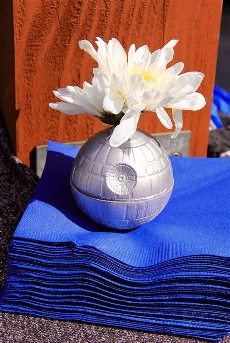 Kara's Party Ideas Death Star Floral Prop/Napkin Weight