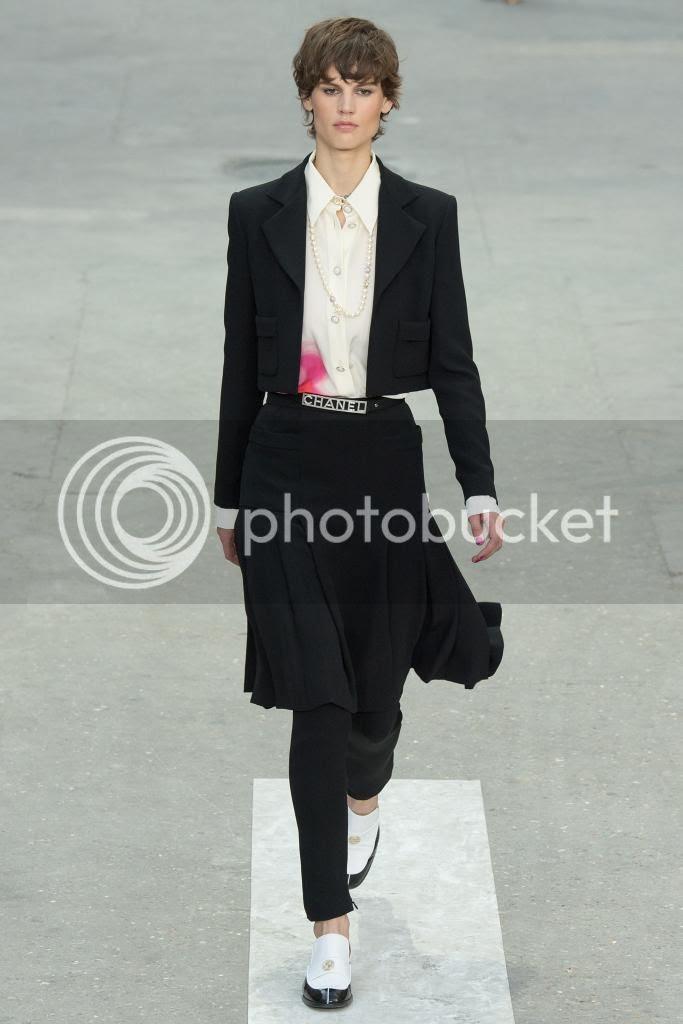 Chanel RTW Spring 2015 Show at Paris Fashion Week photo chanel-spring-2015-paris-fashion-week-Saskia-de-Brauw.jpg
