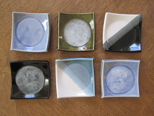 Small Square dishes