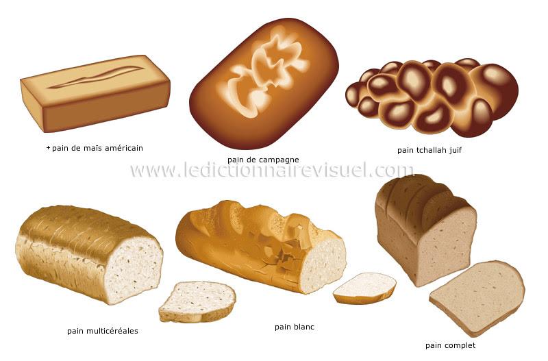 pain - Le Dictionnaire Visuel