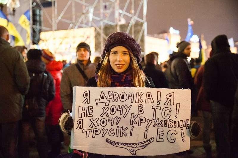 Как русских на Украине свели с ума