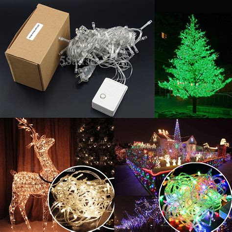 led christmas tree fairy string party lights lamp