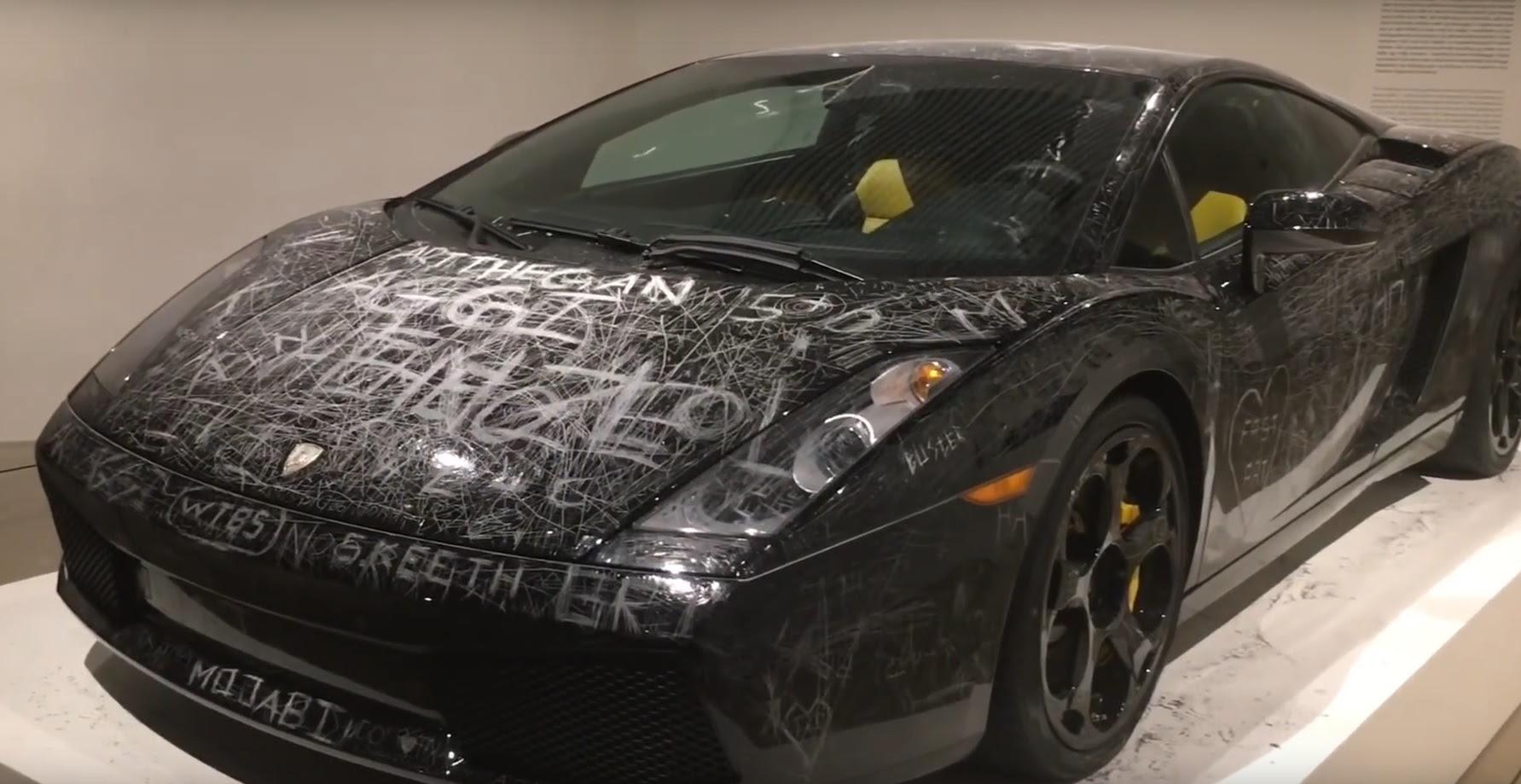 VIDEO: This ScratchedUp Lamborghini Gallardo is Now a