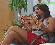 Ines Simoes sensual na novela Fala-me de Amor