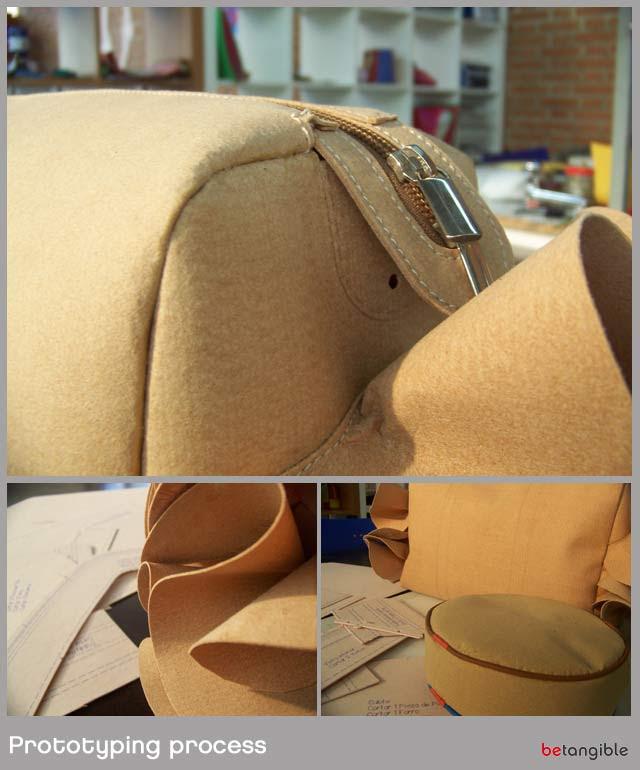 prototypig un proceso de creación de prototipos y de muestreo ... Una fase clave para los diseñadores de accesorios de cuero