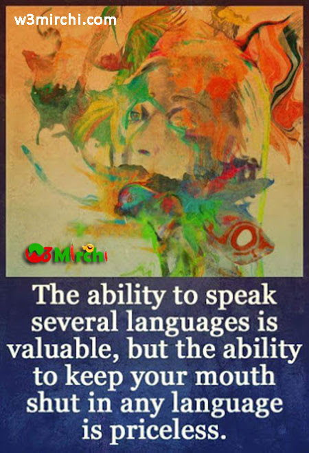 The Ability To Speak Several Languages Is Valuable
