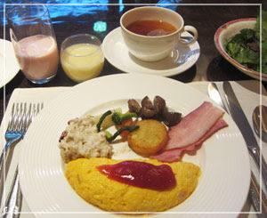 ホテル宿泊のお楽しみ、幸せな朝御飯♪