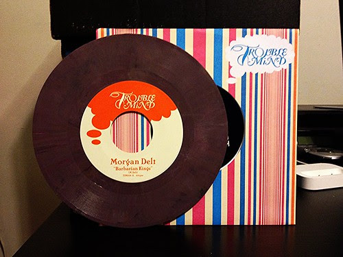 "Morgan Delt - Barbarian Kings 7"" - Purple Vinyl (/500) by Tim PopKid"