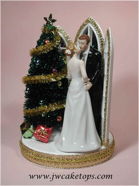 The Jayne Williams Collection   Christmas Wedding Cake