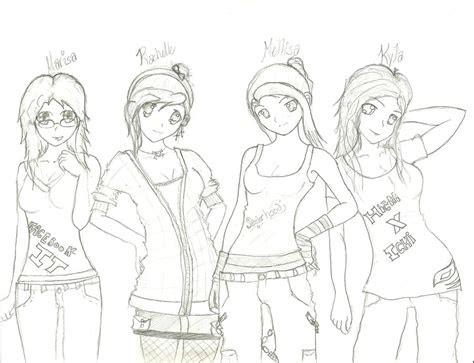 anime club drawing  rayrayloser  deviantart