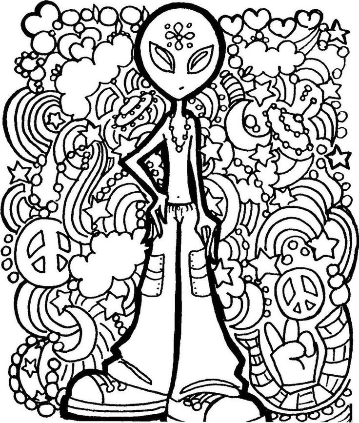 Printable Mushroom Coloring Pages For Adults - Coloring And Drawing