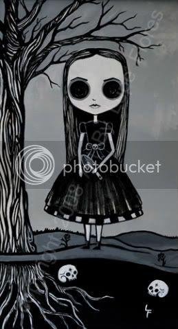 Lailah and her secret garden.