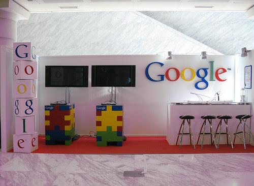 El stand de Google en la WWW2009