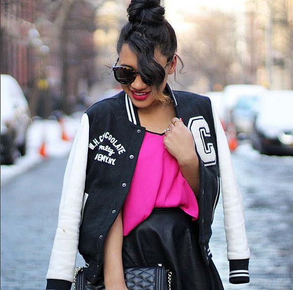 Sporty With a Letterman Jacket