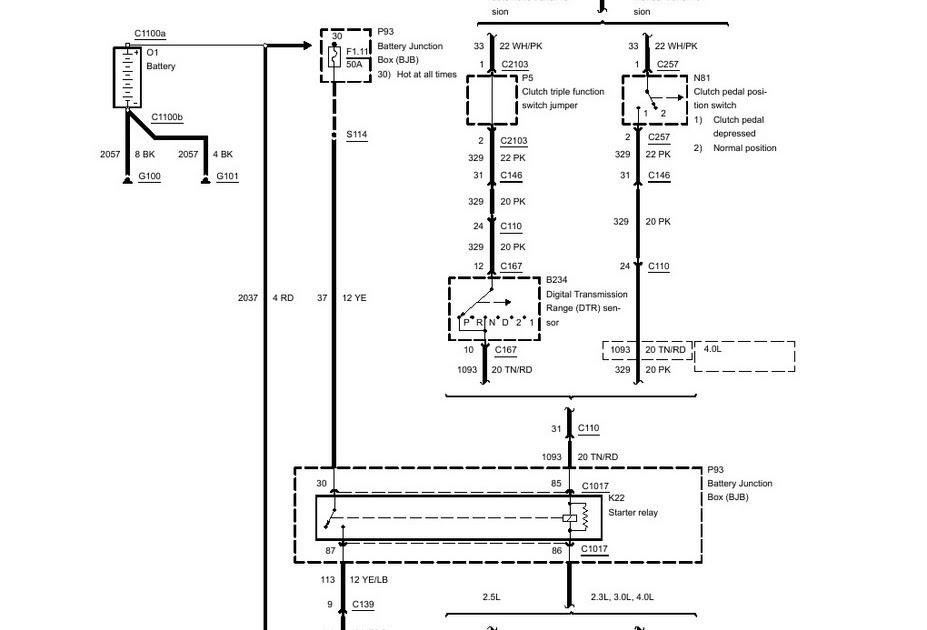1988 Ford F 150 Starter Wiring Diagram