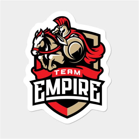 empire logo sticker sticker  teamempire design  humans