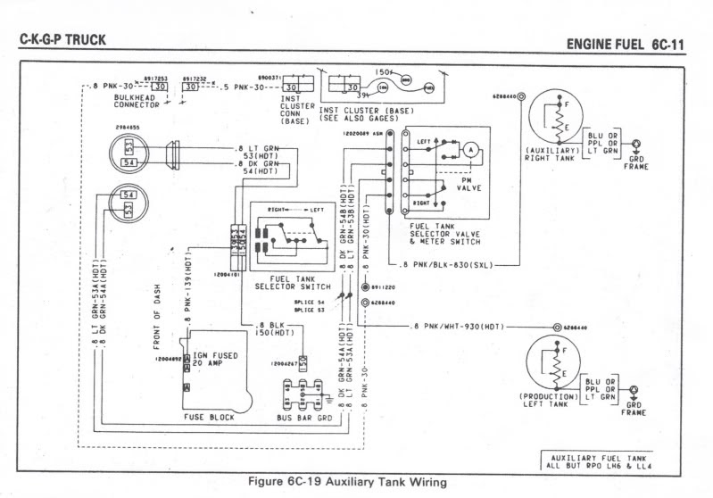 85 Chevy Truck Ga Tank Wiring - Wiring Diagram Networks | 1980 Chevrolet Truck Fuel Switch Wiring |  | Wiring Diagram Networks - blogger
