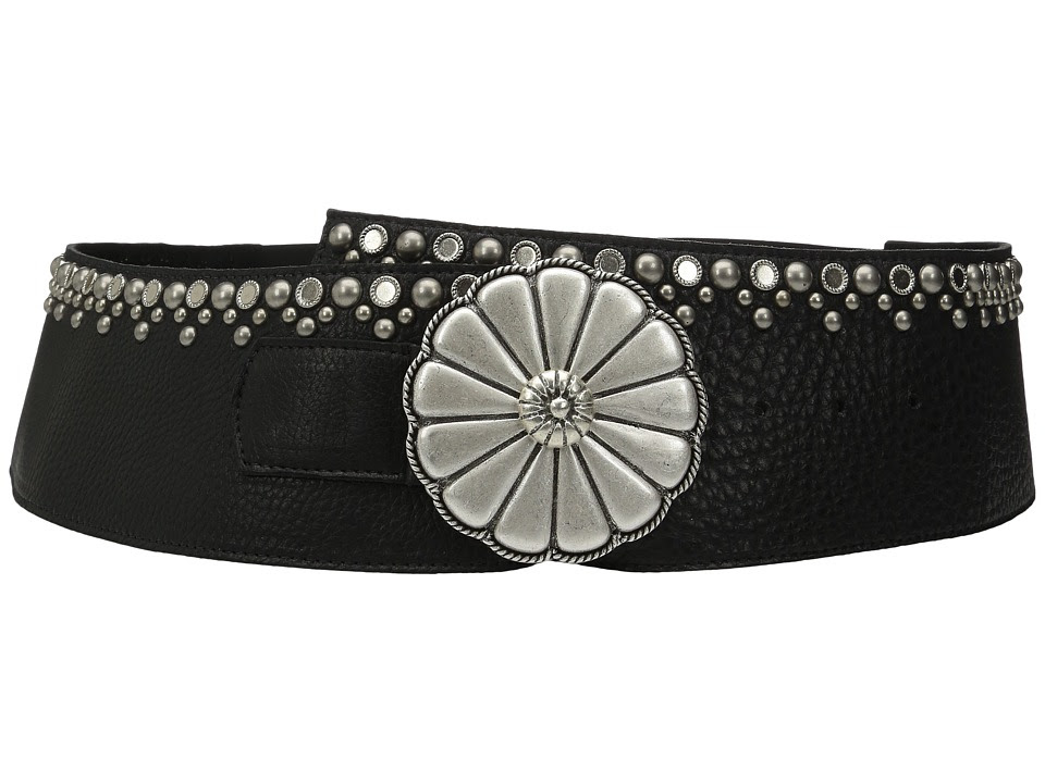 Leatherock - 1710 (Bullhide Black) Women's Belts