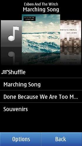 Album View on Nokia N8