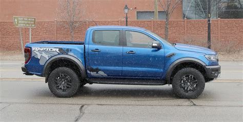 ford ranger raptor spied pickuptruckscom news