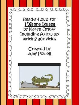 I Wanna Iguana mini lesson