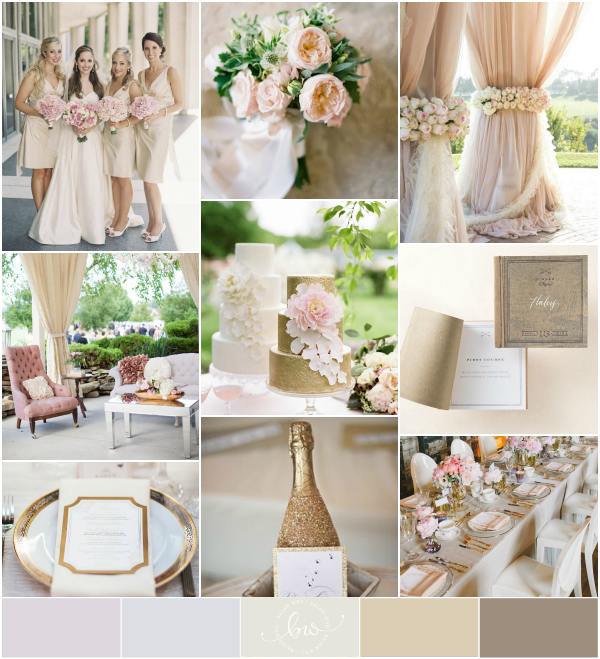 Champagne and Gold Wedding (Reader Request) - Bajan Wed ...