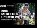 Vídeo de los mejores momentos de la Copa del Mundo XCO femenina de Mont-Saint-Anne 2018