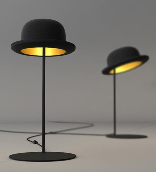 Hat Table Lamp by Jake Phipps