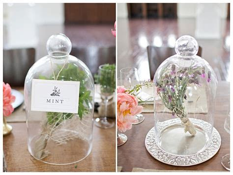 Vintage Wedding Decorations   Cloche & Bell Jars