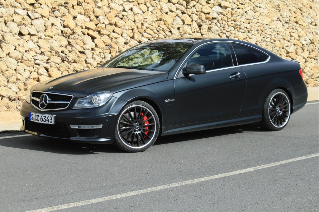 2012 Mercedes-Benz C63 AMG Coupe Drift Action: Video