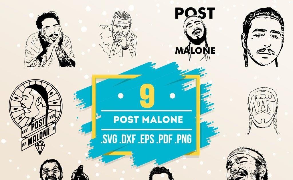 Post Malone Svg File Best Tattoo Ideas