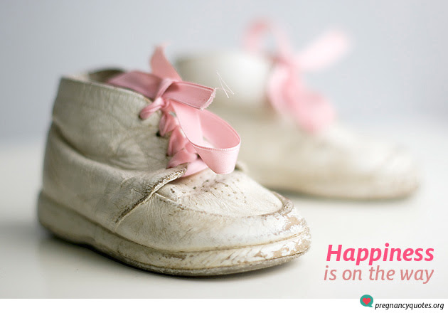 Happiness Is On The Way Happy Pregnancy Pregnancy Quotes