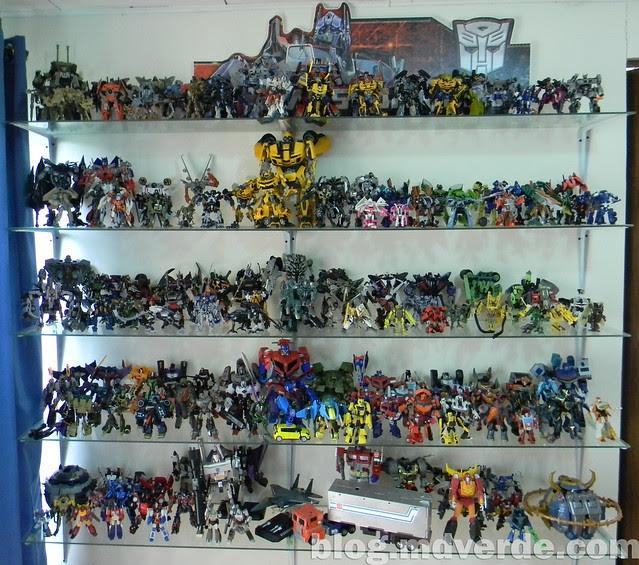 Mi colección de Transformers (05-Abr-2012) - Estante 2 - Movie 2007 - RotF - HftD - Animated - Masterpiece - Alternity - Otros