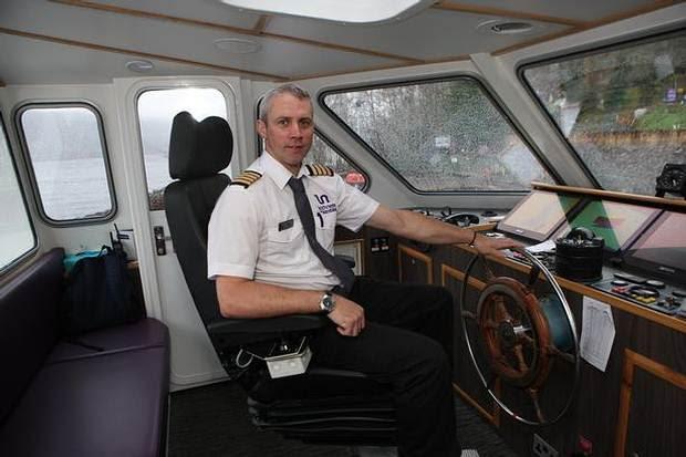 Keith Stewart (foto) ha utilizado previamente equipos de sonar para cartografiar las profundidades de los mares, y comenzó a trabajar en el Lago Ness en marzo del año pasado.