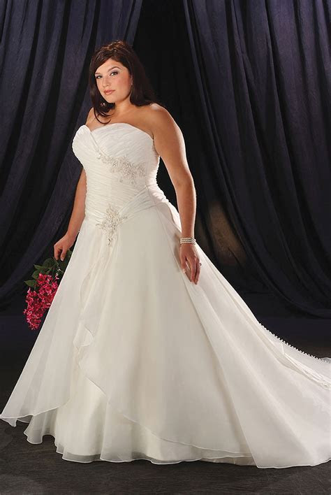 Plus Size Wedding Dresses   DressedUpGirl.com