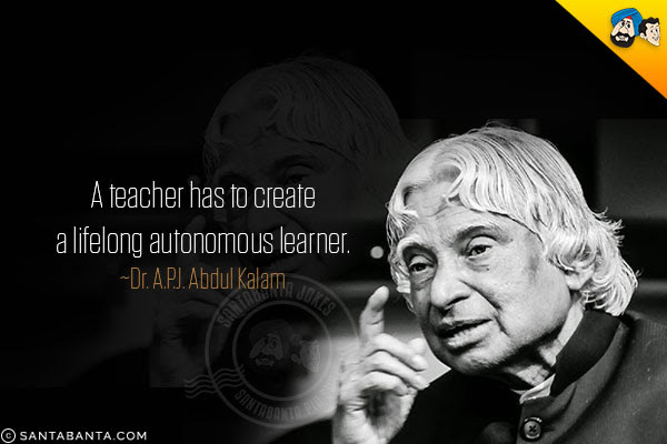 Abdul Kalam Teacher Quotes Kylinfloor