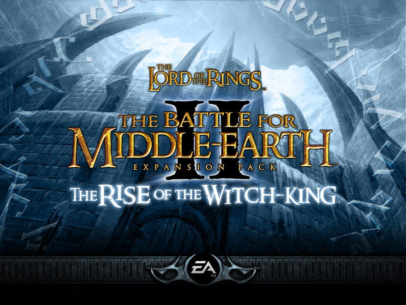 rise of the witch king logo with background